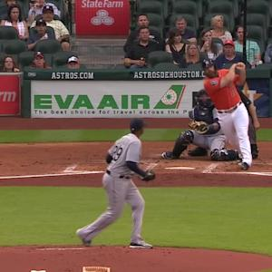 Gattis' two-run homer