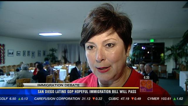 San Diego Latino GOP hopeful immigration bill will pass