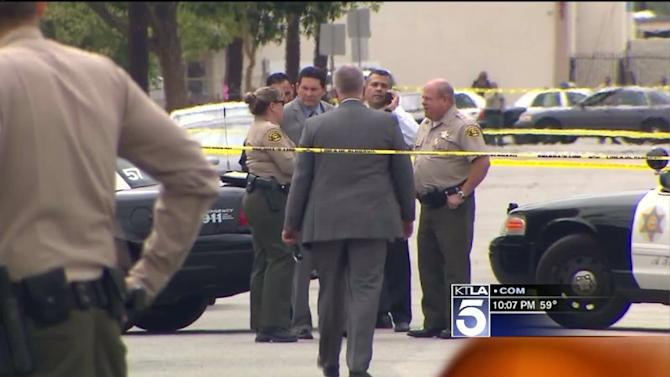 South El Monte Meat-Cleaver Attack Ends With Deputy Gunfire, 2 Men Dead, Woman Hospitalized