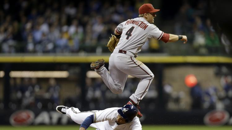 Arizona Diamondbacks v Milwaukee Brewers