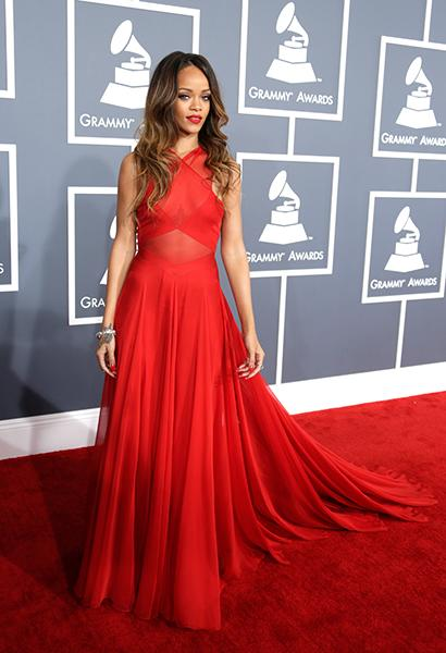 "BEST: Rihanna wearing Azzedine Alaia couture Ever since the movie ""Clueless,"" most girls have only dreamed of wearing ""an Alaia."" Rihanna had several custom Alaia couture gowns made for her before dec"