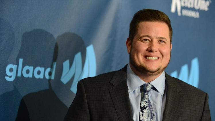 Chaz Bono arrives at the 24th Annual GLAAD Media Awards at the JW Marriott on Saturday, April 20, 2013 in Los Angeles. (Photo by Jordan Strauss/Invision/AP)