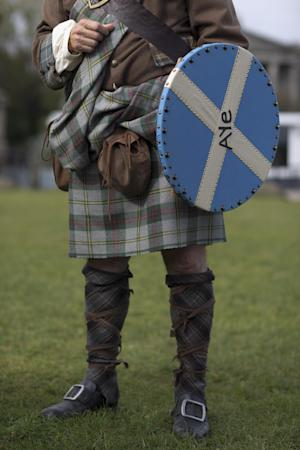 The historical kilt and outfit of Scottish independence …