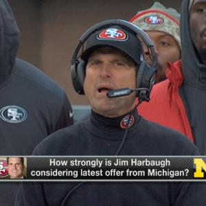 Ian Rapoport: Down to Michigan, Raiders for Harbaugh