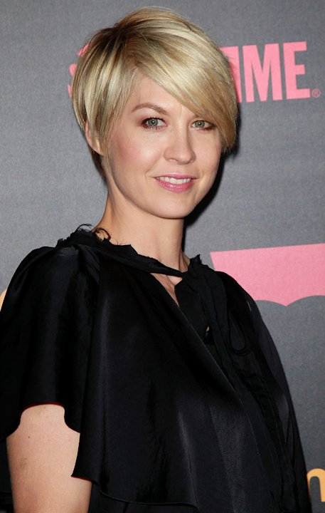 "Jenna Elfman attends the ""Shameless"" Season 2 Reception at Haus Los Angeles on January 5, 2012 in Los Angeles, California."