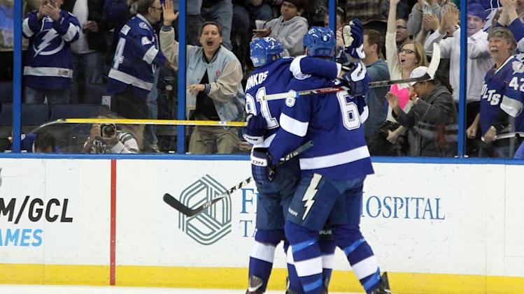NHL: Buffalo Sabres at Tampa Bay Lightning
