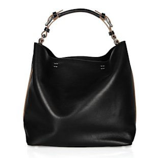 Black Slouchy Shoulder Bag, &#xa3;625, by Marni: What To Wear: Office
