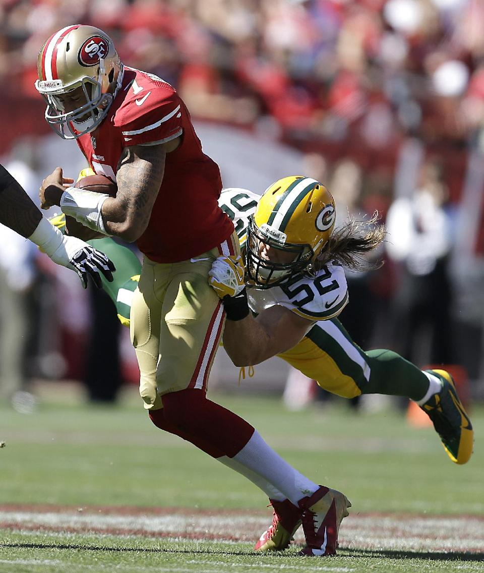 Packers' Matthews moves on from 49ers controversy