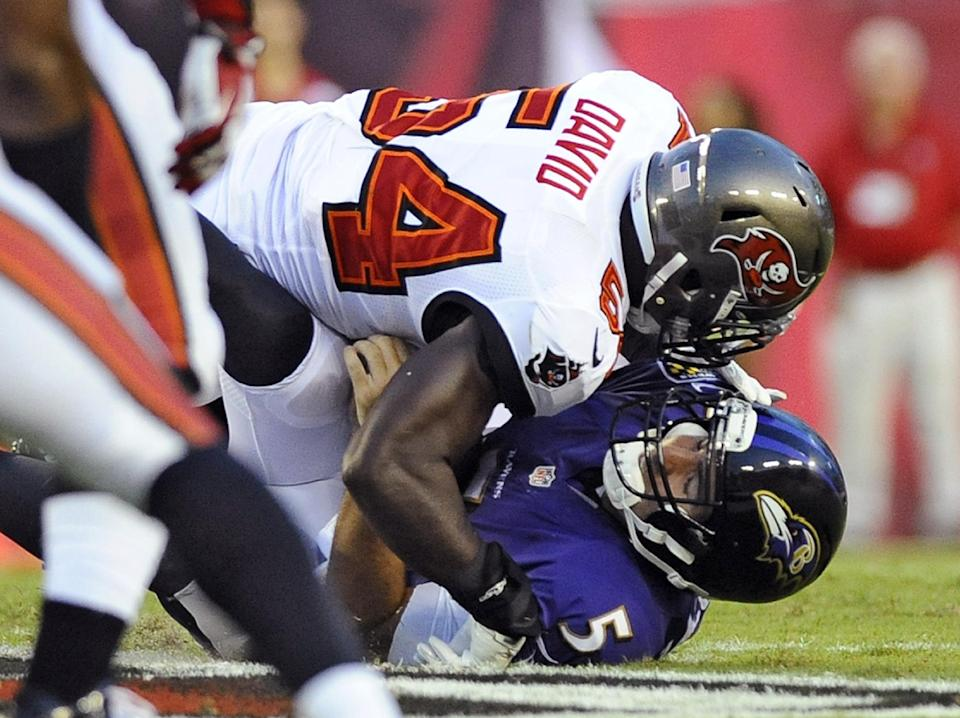 New-look Ravens get familiar result in win vs Bucs
