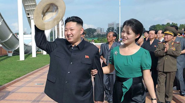 North Korea's First Lady Was Cheerleader, Ditches Drab Outfits (ABC News)