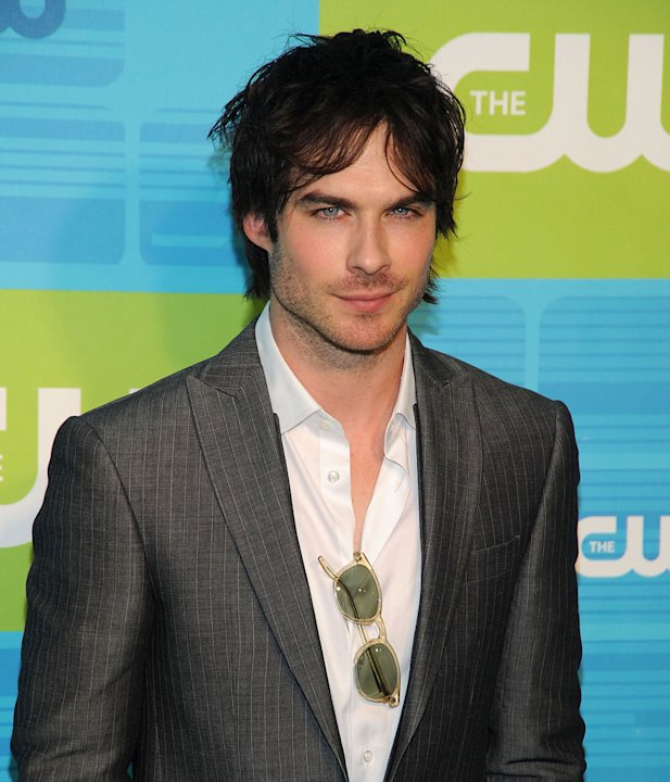 "Ian Somerhalder (""Vampire Diaries"") attends the 2010 The CW Upfront at Madison Square Garden on May 20, 2010 in New York City."