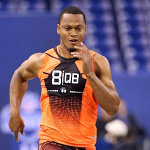On the Clock: UCLA quarterback Brett Hundley and Missouri wide receiver Dorial Green-Beckham take on combine