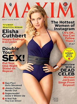 Elisha Cuthbert Named TV's Most Beautiful Woman by Maxim Magazine