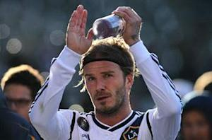 Los Angeles Galaxy star David Beckham will bring Olympic torch to London 2012 Games