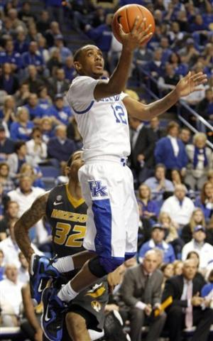 Kentucky beats Missouri 90-83 in overtime