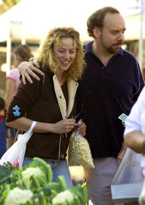 Virginia Madsen and Paul Giamatti in Fox Searchlight's Sideways