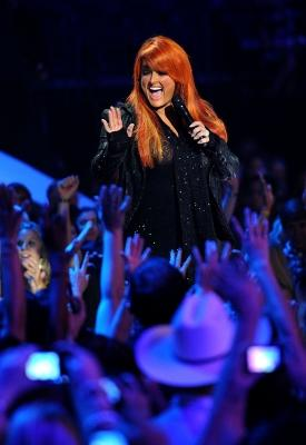 Wynonna Judd performs at the 2011 CMT Music Awards at the Bridgestone Arena, Nashville, on June 8, 2011 -- Getty Images