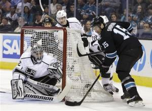 Couture leads Sharks past Kings 4-3
