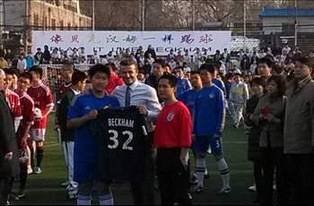 Beckham should not have gone to China, says doctor