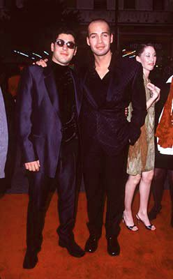 Danny Nucci and Billy Zane at the premiere of Paramount's Titanic