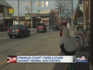 Franklin County fights federal gun control