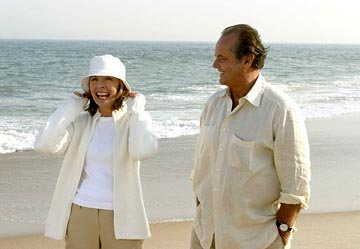 Diane Keaton and Jack Nicholson in Columbia's Something's Gotta Give