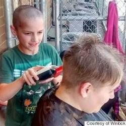 Teacher Lets 9-Year-Old Student Shave Her Hair After Boy Was Bullied For His Haircut