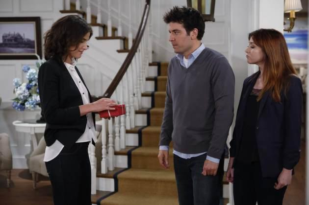 How I Met Your Mother - Cobie Smulders, Josh Radnor, Alyson Hannigan -- CBS