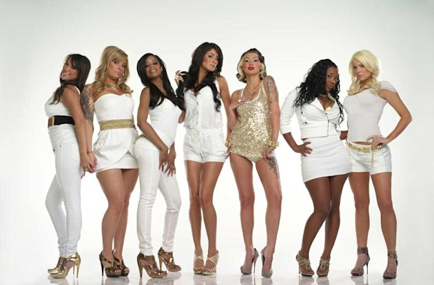 The cast of  &quot;Bad Girls Club.&quot; 