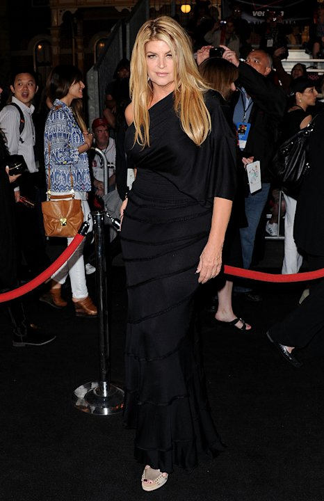 Pirates of the Caribbean On Stranger Tides LA Premiere 2011 Kristie Alley