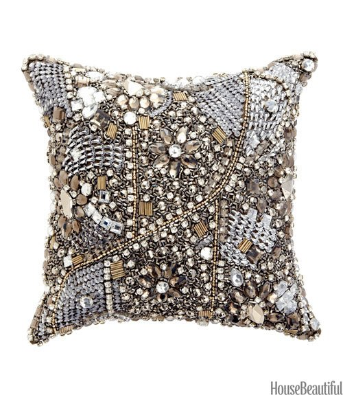 Jeweled Pillow