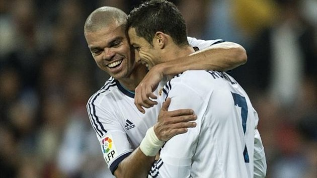 Pepe Ronaldo Real Madrid