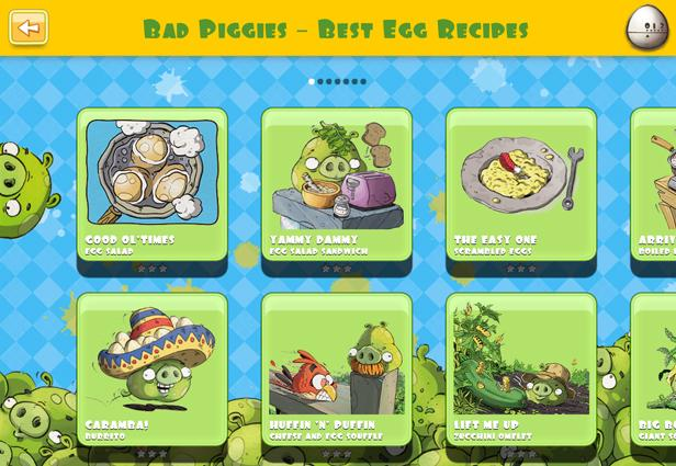 Rovio Launches Interactive 'Bad Piggies' Cookbook for iPad