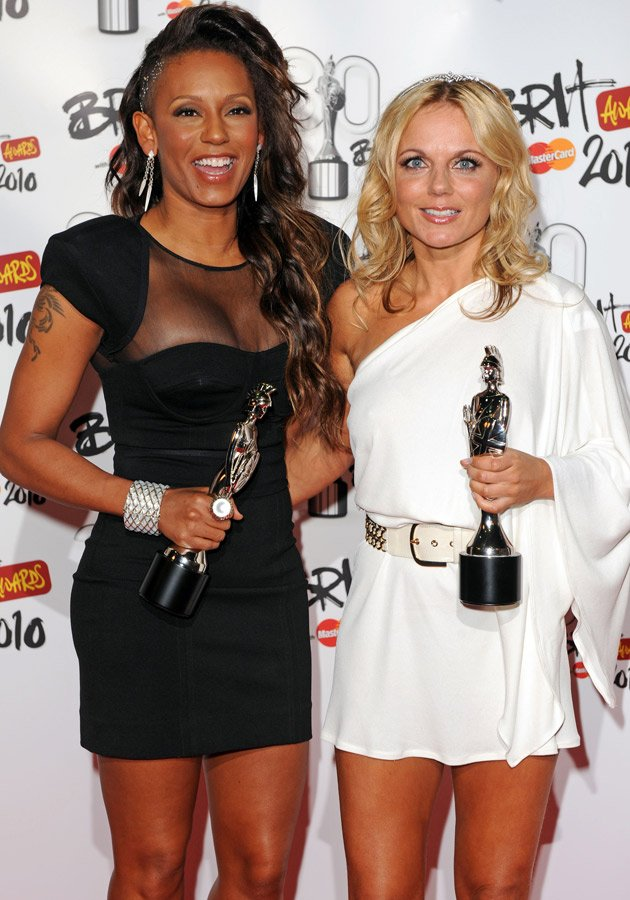 Mel B, Geri Halliwell