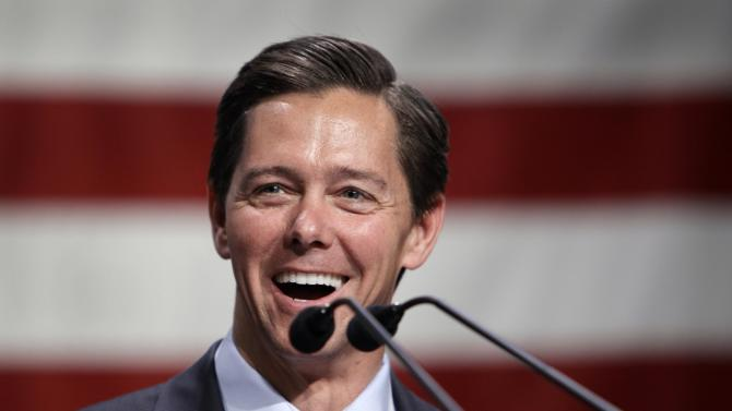 """In this photo taken March 7, 2011, National Faith & Freedom Coalition President Ralph Reed speaks at the coalition's forum in Waukee, Iowa. Republican activists say President Barack Obama's embrace of gay marriage carries political, geographic and financial value for their party in what's shaping up to be a tight presidential race. """"This is one situation where Obama looks like the flip-flopper and (Mitt) Romney looks consistent,"""" said Reed.  """"So much for the notion that Romney's the one with no core,"""" he said. (AP Photo/Charlie Neibergall)"""
