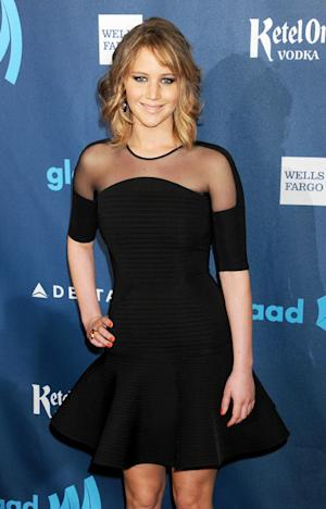 Jennifer Lawrence Rocks New Short Haircut at GLAAD Media Awards: Picture