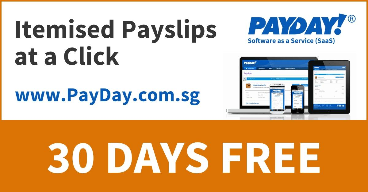 Singapore - Itemised Payslips at a click