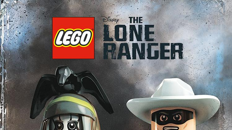 The Lone Ranger Lego Poster