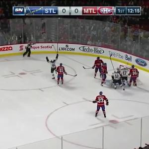 St. Louis Blues at Montreal Canadiens - 11/20/2014