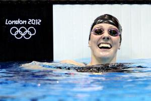 Missy Franklin, 17, Wins 100-Meter Backstroke