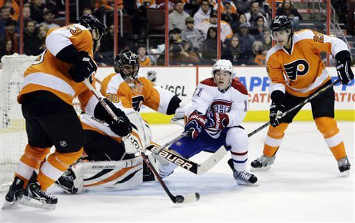 Flyers rally in 3rd and top Montreal  5-3
