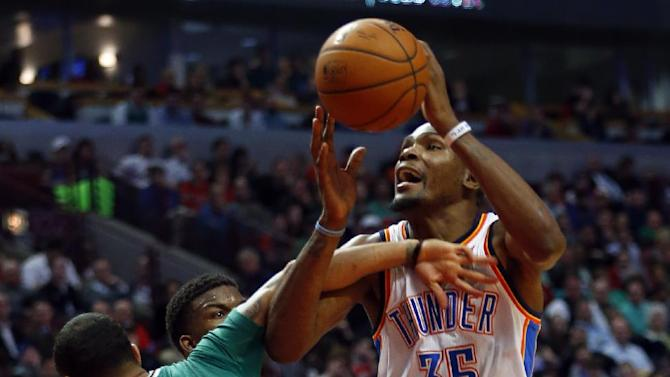 Durant leads Thunder past Bulls 97-85