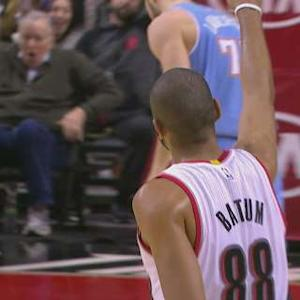 Afflalo Beats the Buzzer