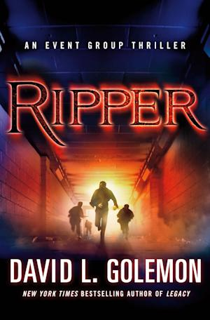 """This book cover image released by Thomas Dunne Books shows """"Ripper,"""" by David L. Golemon. (AP Photo/Thomas Dunne Books)"""