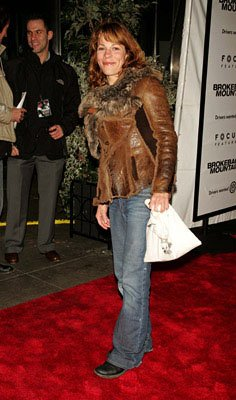 Lili Taylor at the NY premiere of Focus Features' Brokeback Mountain