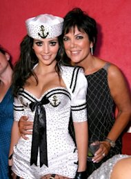 Kris Jenner has made her daughter Kim Kardashian the highest paid (and least dressed) reality star. (Photo by Jordan Strauss/WireImage)