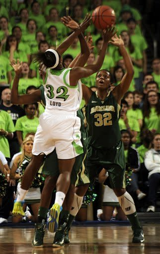 Griner leads No. 3 Baylor women over No. 5 Irish