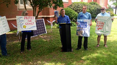Group presents sea level rise proposals for Va.