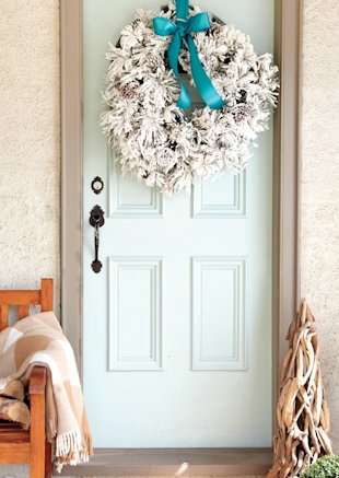 Five-minute Christmas decorations for every room!