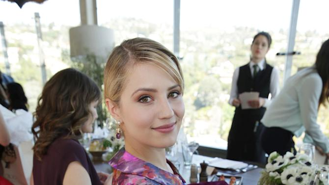 Dianna Agron at The Hollywood Reporter and Jimmy Choo Celebration of the Most Powerful Stylists in Hollywood, on Wednesday, March, 13, 2013 in Los Angeles. (Photo by Eric Charbonneau/Invision for The Hollywood Reporter/AP Images)